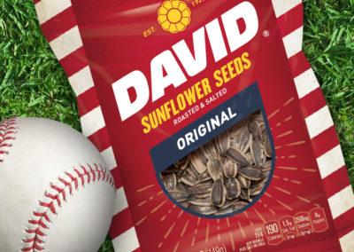 David Sunflower Seeds | Packaging