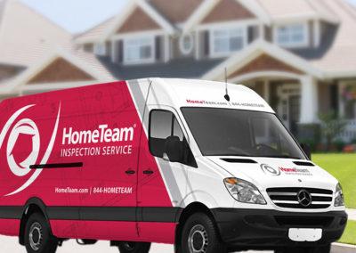 HomeTeam Inspection Service | Vehicle Graphics